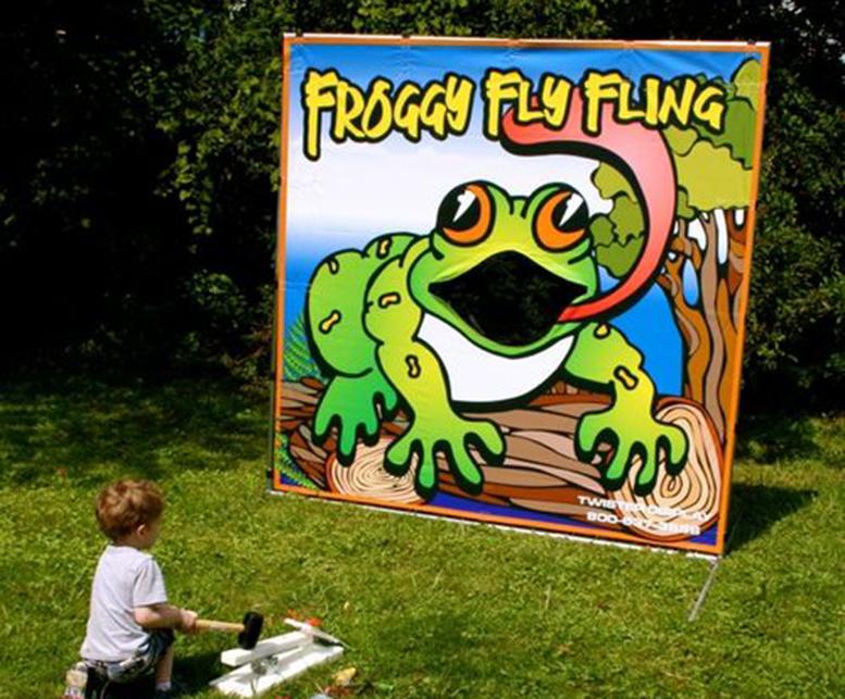 Froggy Flying Fling
