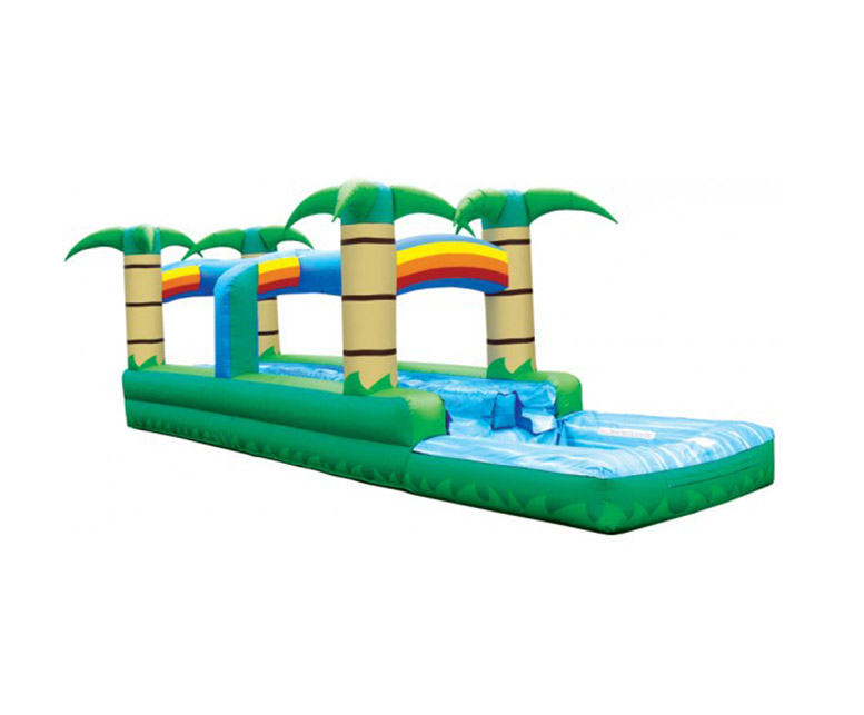 Slip n' Splash Tropical 2 Lane Slide