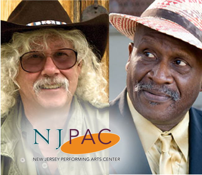 Upcoming Arlo Guthrie/Taj Mahal at NJPAC