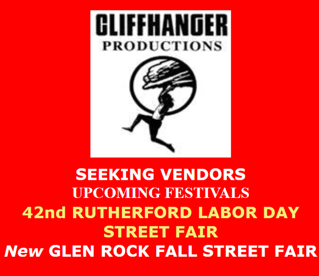 Seeking Vendors for Upcoming NJ Street Fairs