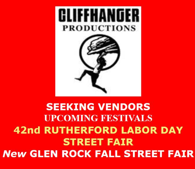 Seeking Vendors for Upcoming NJ Street Fairs
