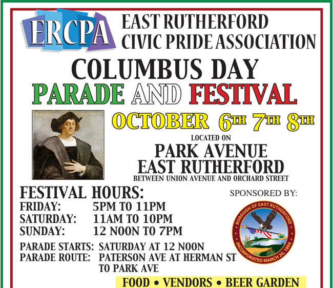East Rutherford Columbus Day Parade and Festival